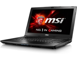 "MSI GL62 6QD (Intel Core i5 6300HQ 2300 MHz/15.6""/1366x768/4Gb/500Gb/DVD-RW/NVIDIA GeForce GTX 950M/Wi-Fi/Bluetooth/DOS) (9S7-16J612-029)"