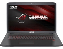 "Игровой ноутбук 2017 ASUS ROG GL552VX Intel Core i5 6300HQ 2300 MHz/15.6""/1366x768/8.0Gb/1000Gb/DVD-RW/NVIDIA GeForce GTX 950M/Wi-Fi/Bluetooth/Win 10 Home (90NB0AW3-M02980)"
