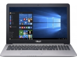 "ASUS K501UW (Core i7 6500U 2500 MHz/15.6""/1920x1080/8.0Gb/1128Gb HDD+SSD/DVD нет/NVIDIA GeForce GTX 960M/Wi-Fi/Bluetooth/Win 10 Home) 90NB0BQ2-M00690"